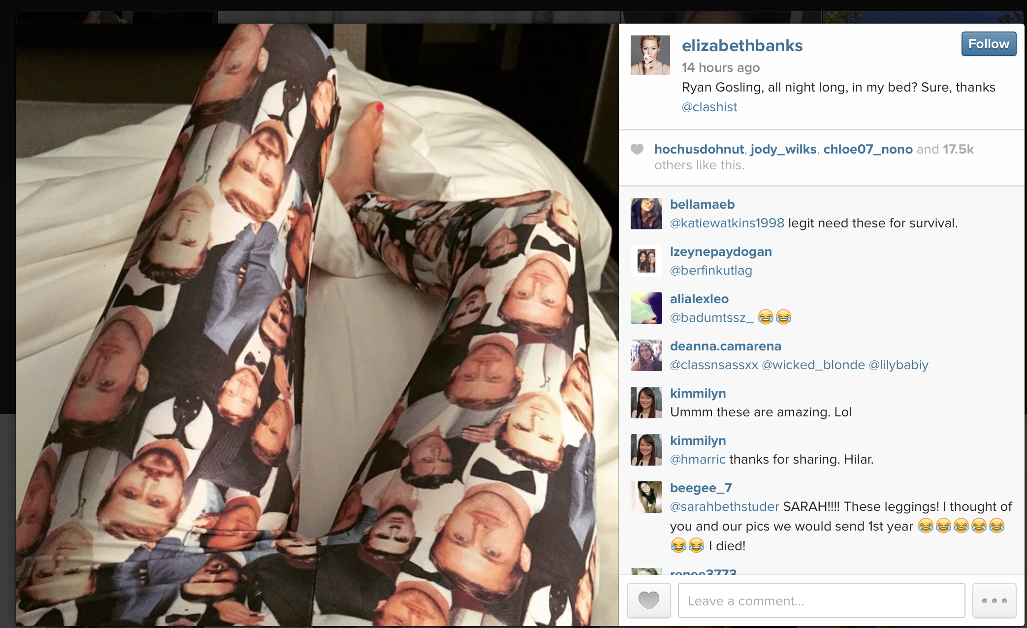 Elizabeth Banks in James leggings - 3.19.png