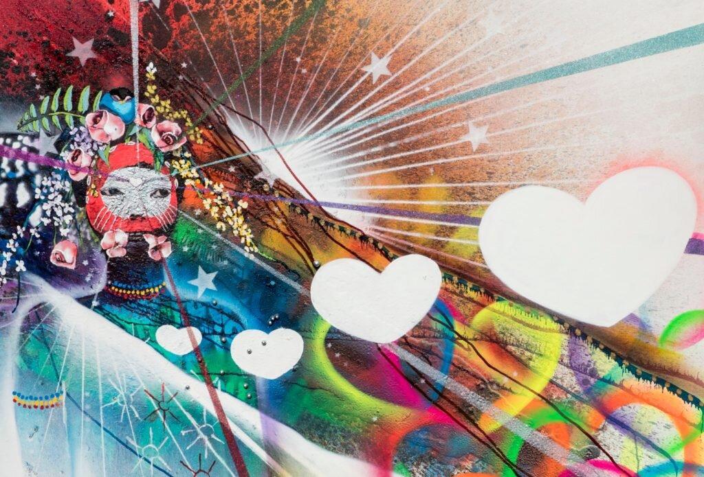 Medicine-inspired art by Chor Boogie