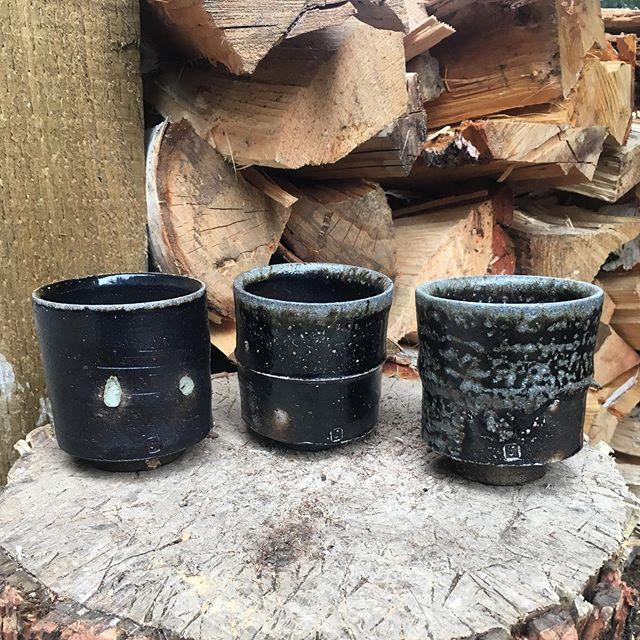 Change from time at temperature. Thanks for following along folks! . . . #hikidashi #iron #woodfired #cup