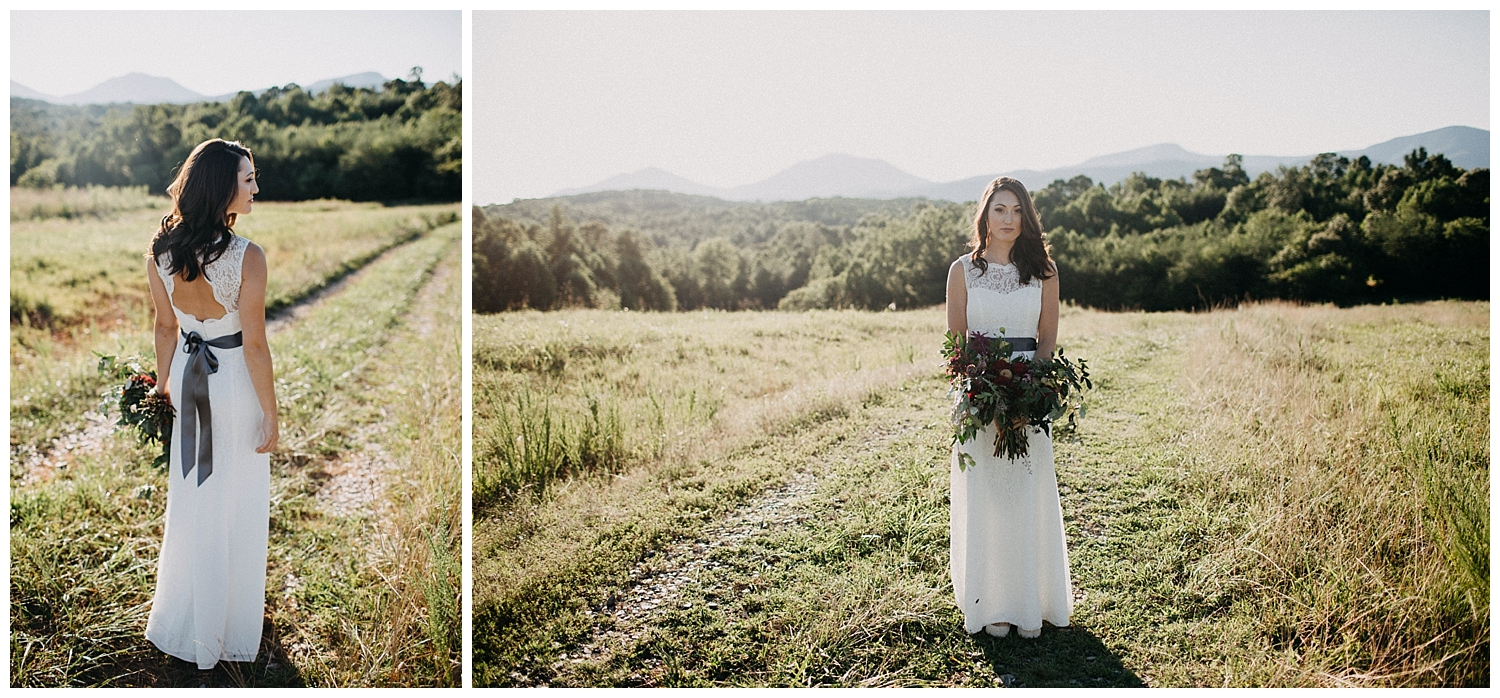 Glass Hill Venue Bridal Session