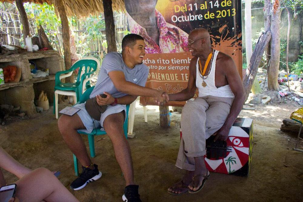In Palenque.    Image courtesy BMC