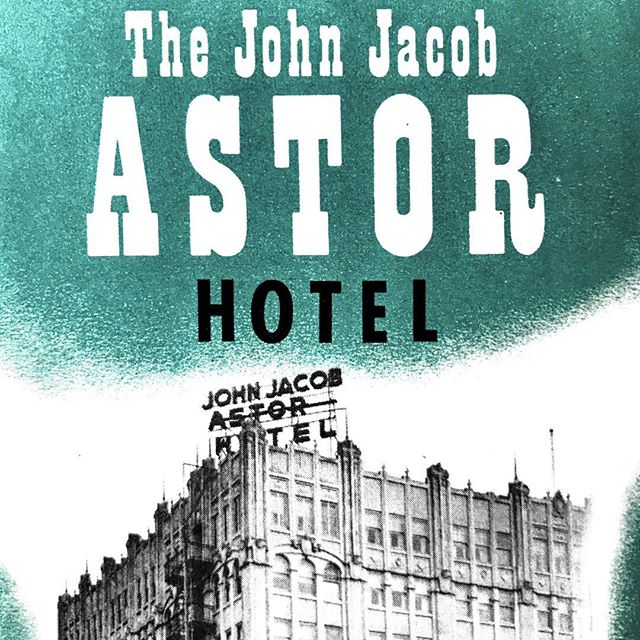Some graphics from a 1950s brochure for the newly rebranded John Jacob Astor Hotel. Another acquisition for my collection on this building. . . . #design #interiordesignstudent #architecturestudent #graphicdesign #vintagegraphicdesign #astoria #astoriaoregon #hotelastoria #theruinsastoria #johnjacobastorhotel