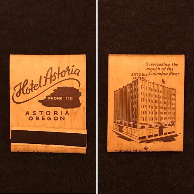 A new acquisition in my constant hunt for new information about this building. The Hotel Astoria is my Comprehensive Project, and the last project of my undergraduate studies. . . . #design #interiordesignstudent #architecturestudent #matchbook #astoria #astoriaoregon #hotelastoria #theruinsastoria