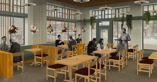 Post-Digital Collage #21 | Nord by Northwest | My last round of collages for college. . . #design #interiordesignstudent #architecturestudent #rendering #vignette #digitalvignette #collage #digitalcollage #architecture #modernism #modern #modernist #oregondesign #interiors #hospitalitydesign #hoteldesign #interiordesign #moderndesign#restaurantdesign #postdigital #modernarchitecture #historicpreservation#astoria #astoriaoregon #johnjacobastorhotel #hotelastoria #theruinsastoria #nordbynorthwest #uoiarch @theruinsastoria
