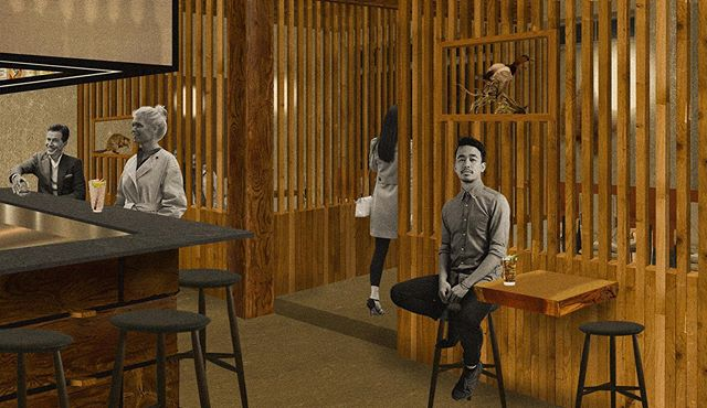 Post-Digital Collage #20 | The Fur Trader | My last round of collages for college. . . . #design #interiordesignstudent #architecturestudent #rendering #vignette #digitalvignette #collage #digitalcollage #architecture #modernism #modern #modernist #oregondesign #interiors #hospitalitydesign #hoteldesign #interiordesign #moderndesign#bardesign #postdigital #modernarchitecture #historicpreservation#astoria #astoriaoregon #johnjacobastorhotel #hotelastoria #theruinsastoria #thefurtrader #uoiarch @theruinsastoria
