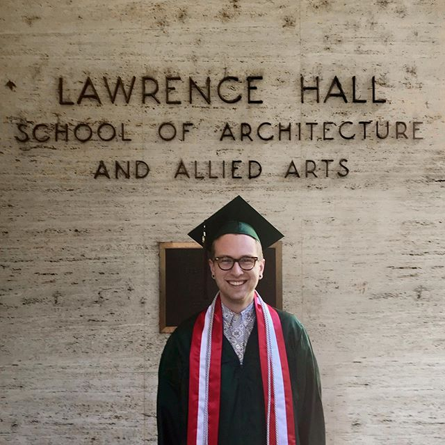 After five long, grueling, and incredibly fulfilling years, today I graduated Magna Cum Laude at the University of Oregon with a Bachelor of Interior Architecture and a minor in Historic Preservation. . . . #design #interiordesignstudent #architecturestudent #interiorarchitecturestudent #uoiarch #graduate #graduation