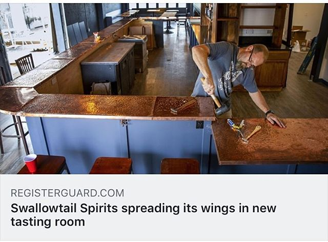 Swallowtail soft opening this Saturday during the Springfield Cruise!  Great article in today's Register Guard!  @swallowtailspirits @scribbleyfribley @ladykbuzz #womenarchitects #discoverdowntownspringfieldor