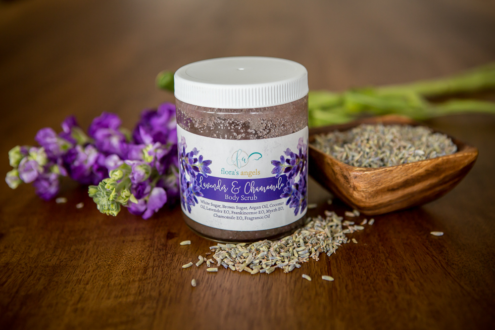 LAVENDER & CHAMOMILE BODY SCRUB (from $10.50)