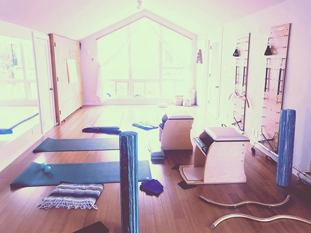 What it looks like after a days of sessions when you've just spent a week with @leblancarbuckle and your studio turns into a playground 🙃 now who's going to clean up after these kids? #fortheloveofmovement #pilateslove #pilates #pilatesplayground #exploration #pacificgrove #monterey #carmel #seaside #pebblebeach
