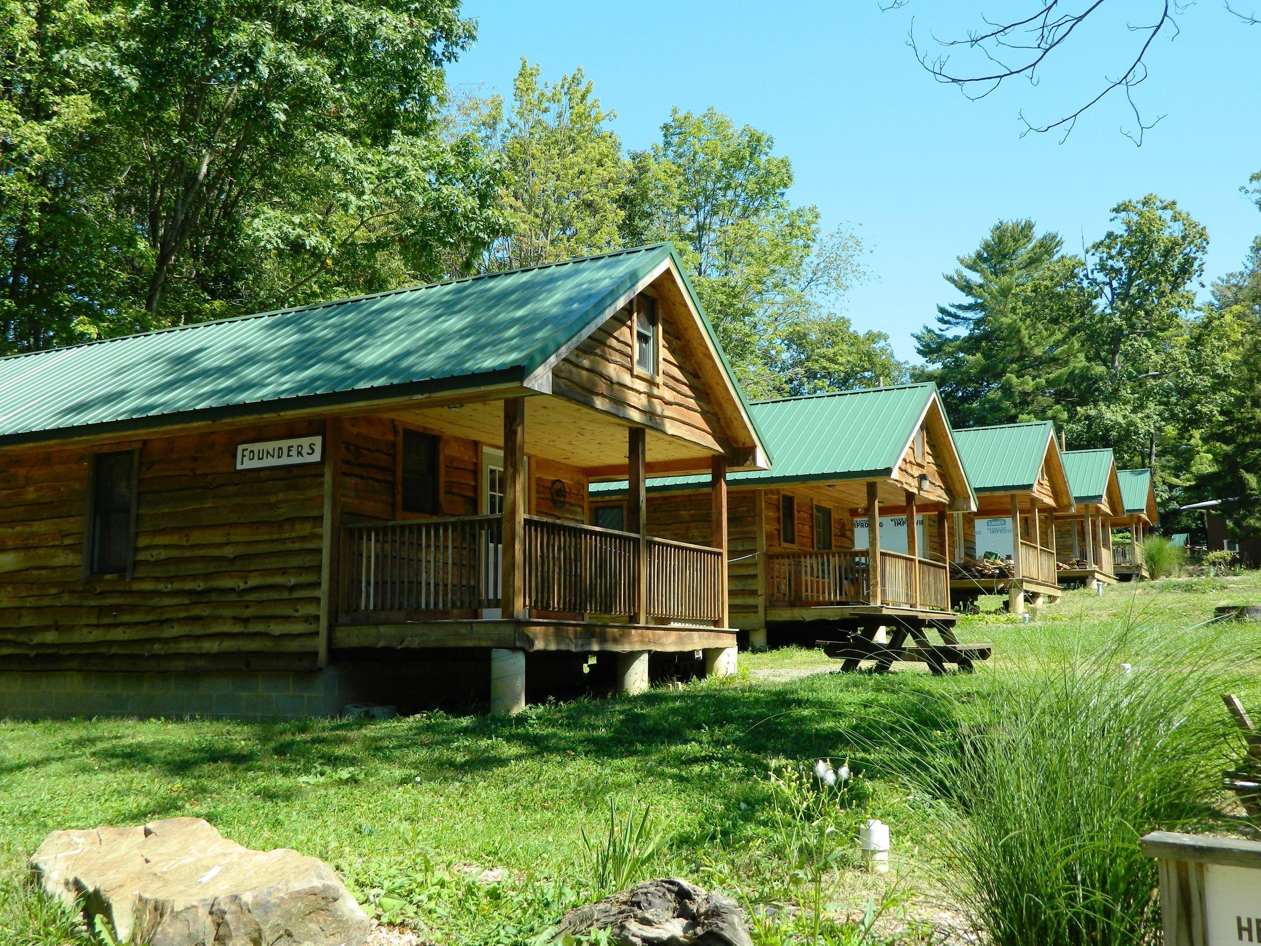 Founders Alley Hemlock Cabins