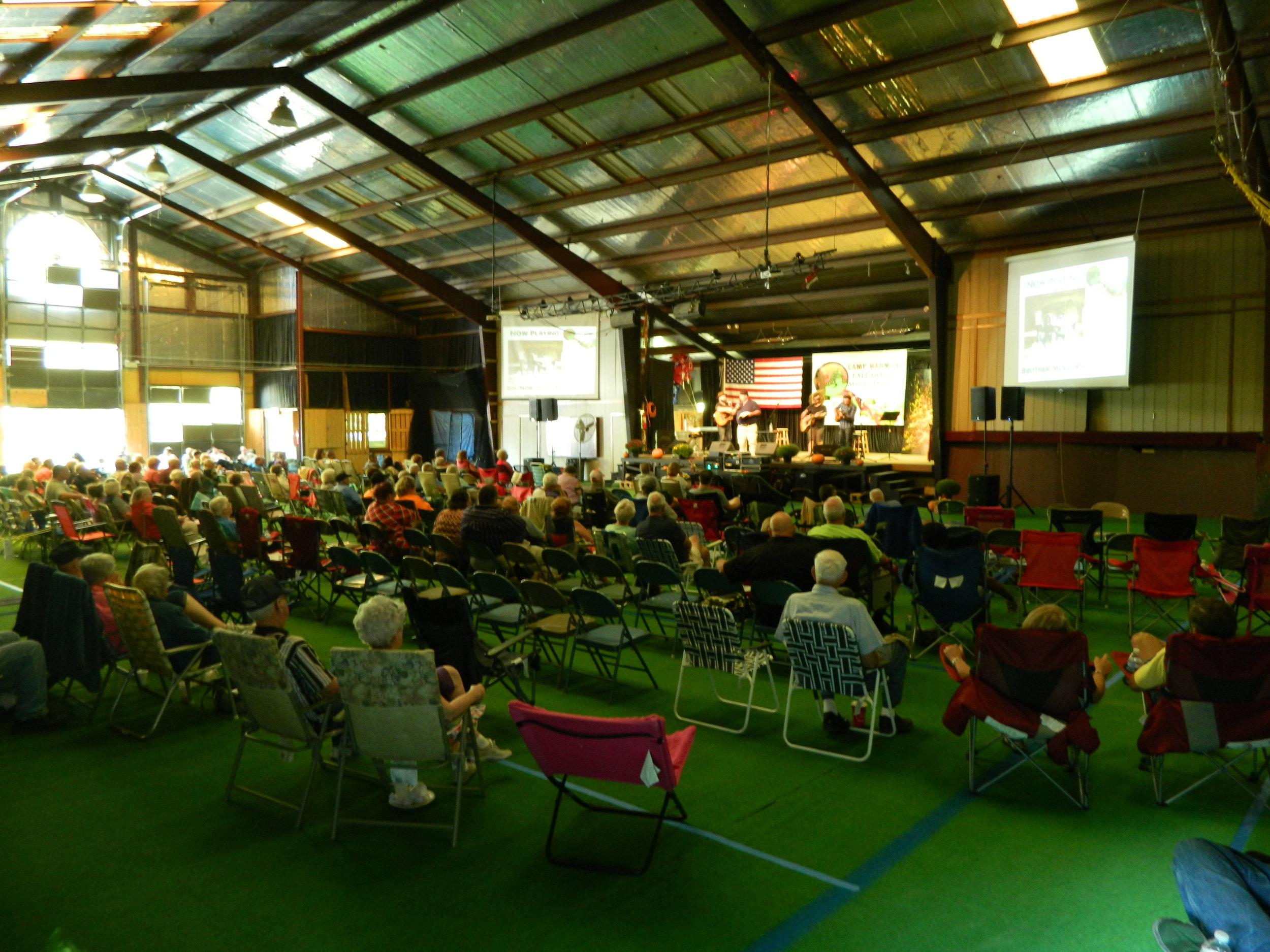 Tabernacle during Fall Gospel Music Festival