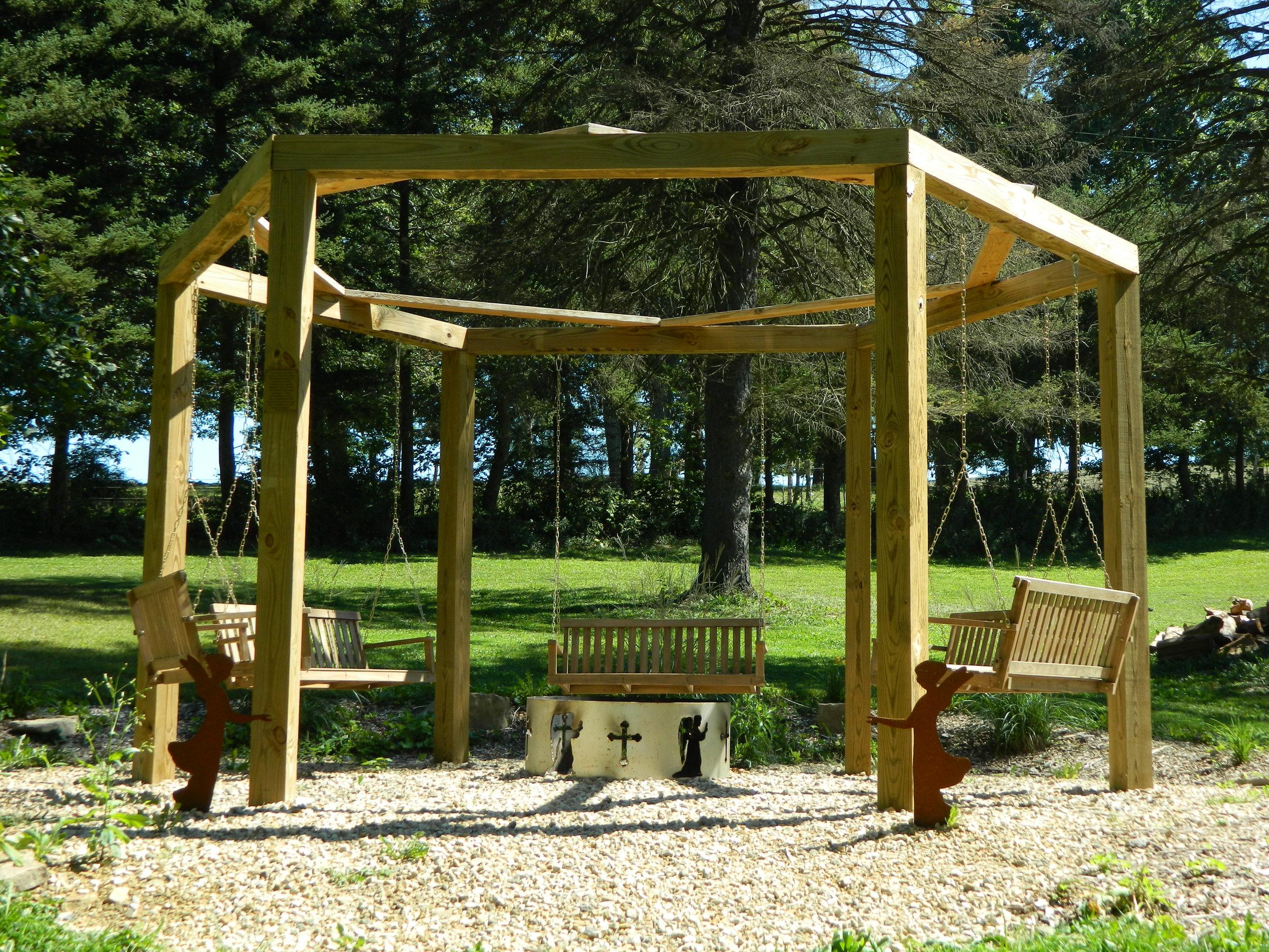 Swings & Fireplace