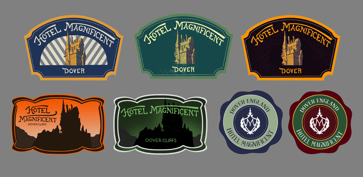 Hotel Magnificent Luggage Labels.jpg