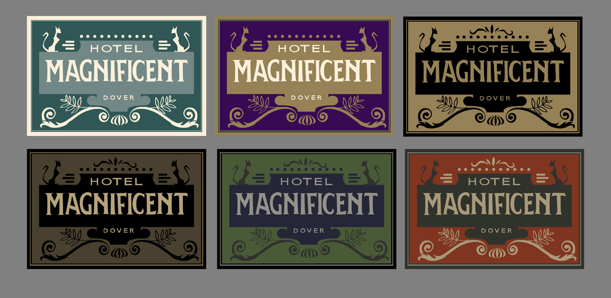 Hotel Magnificent Luggage Labels2.jpg