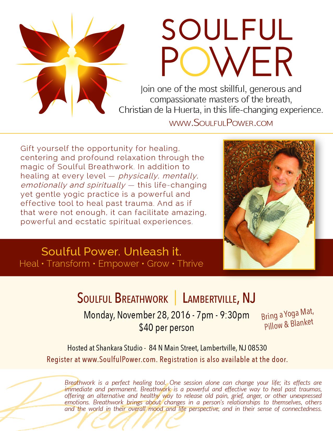 Soulful Power Flyer.indd