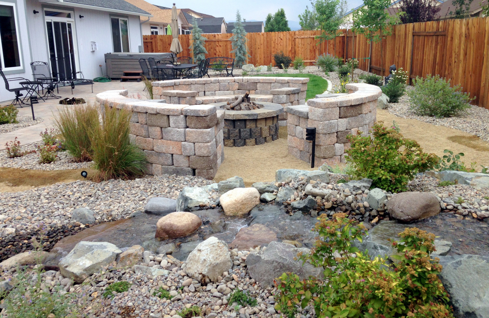 This yard is also a Certified Wildlife Habitat from the National Wildlife Federation.