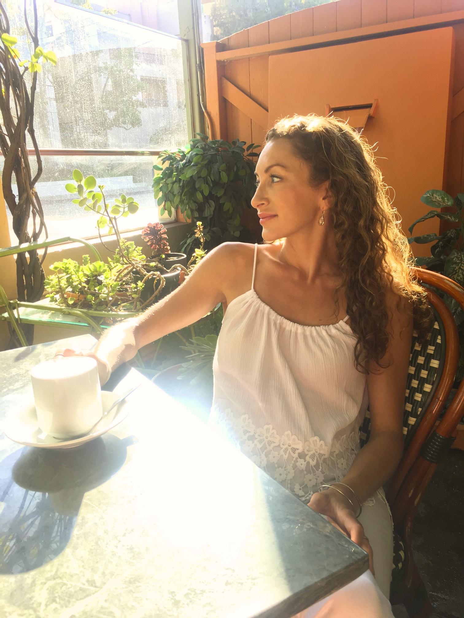 Gorgeous Lattes at LIterati Cafe, Santa Monica