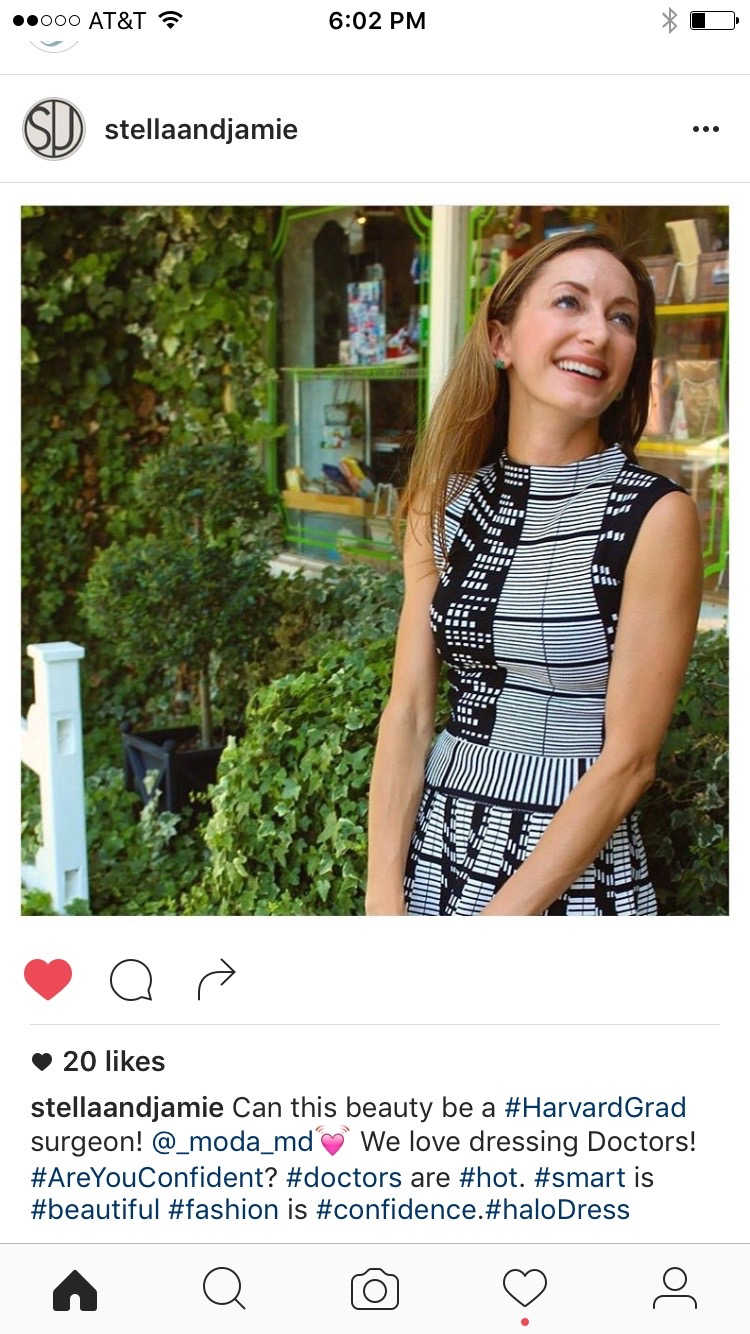So excited to be featured on Stella & Jamie's IG feed -- and what a cute tagline!! xoxo