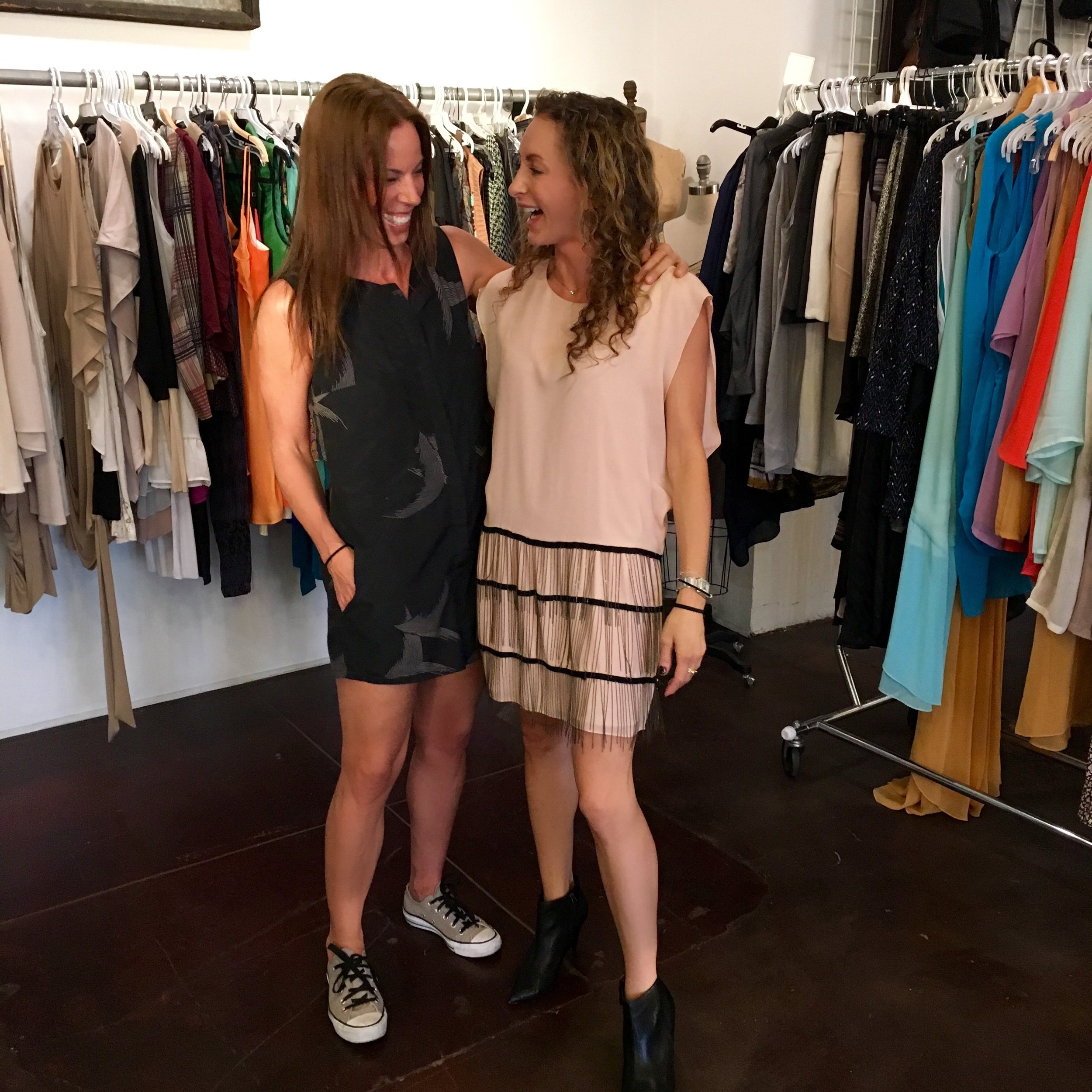 Couldn't have had a better time at the Karen Zambos Sample Sale