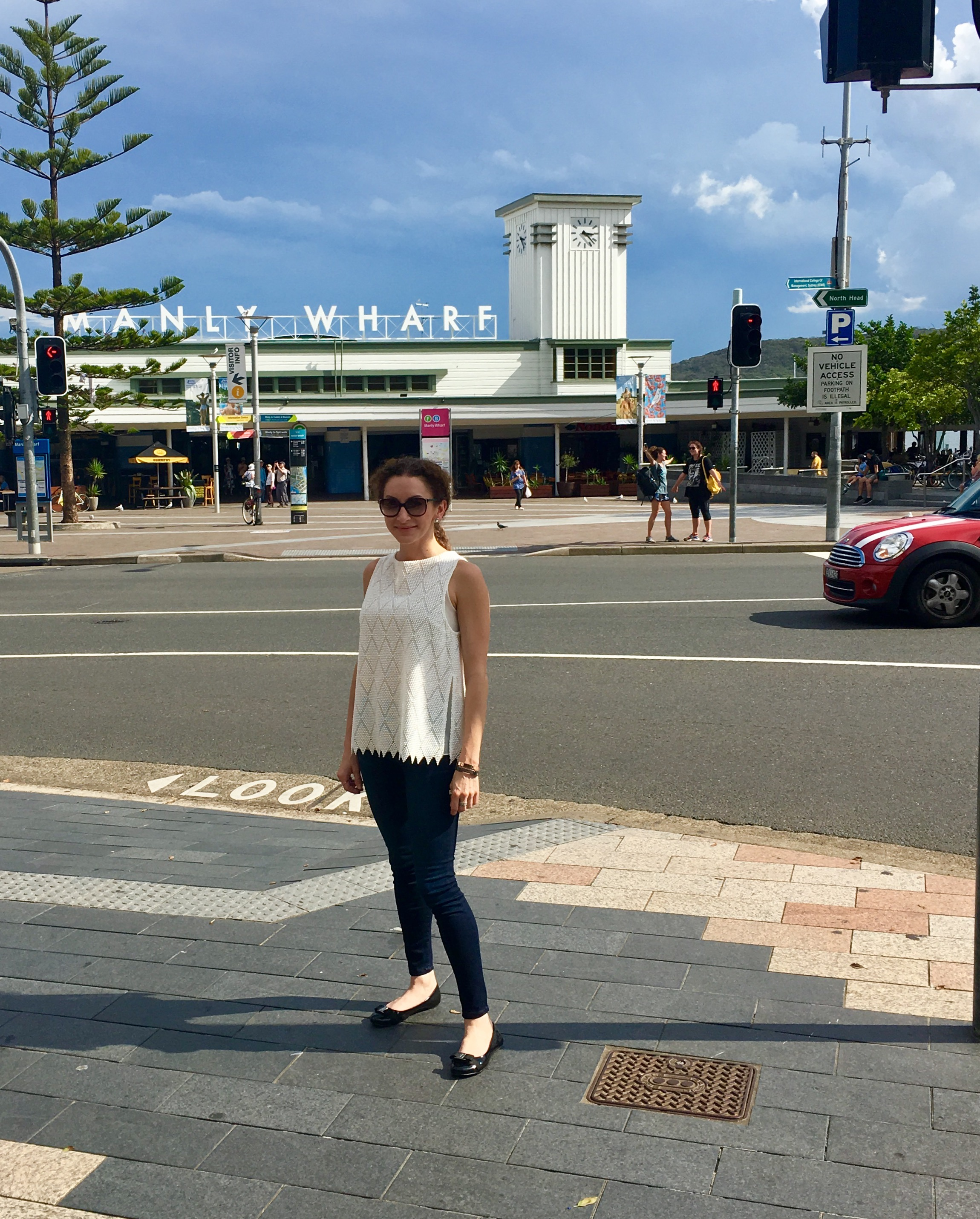 To Manly Beach