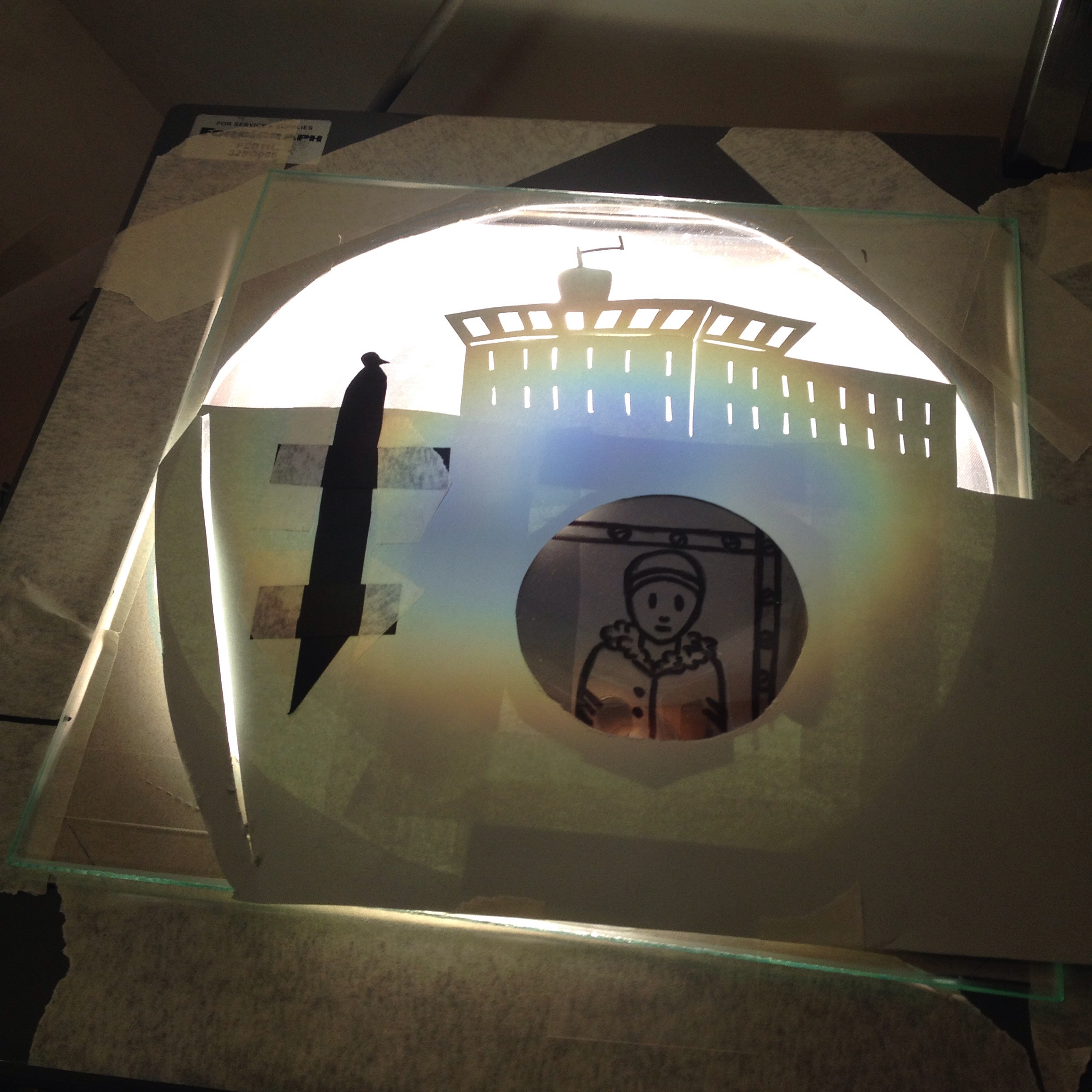 Puppets on the overhead projector