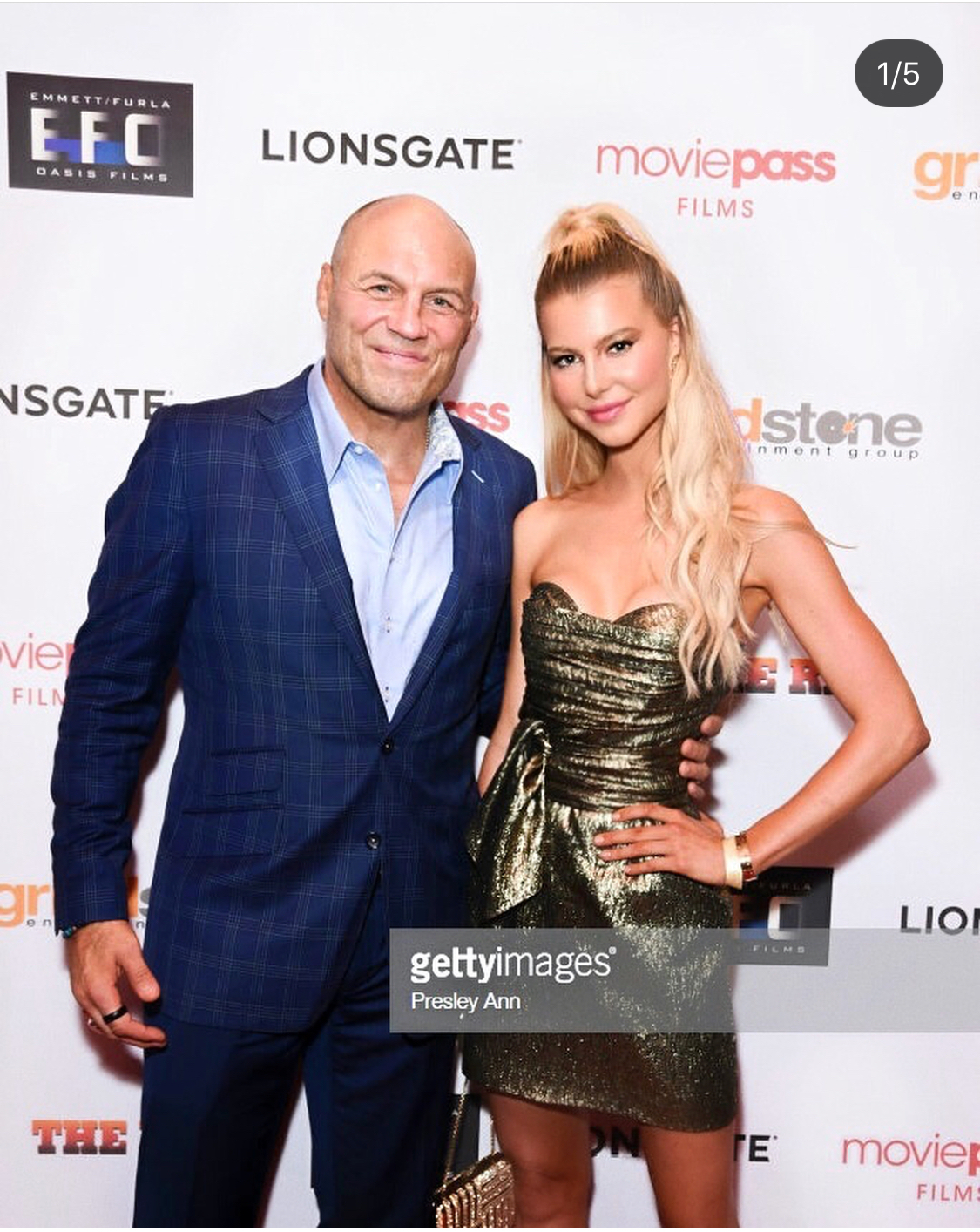 The Row Premiere  Lexi and Randy Couture