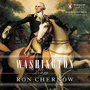 Rating 4/5  I'm currently reading this one but it feels more like Hamilton's biography since it's the same author.  Very througho.  Washington was a dignified man.  Probably the least intelligent of the founding fathers but a great leader and desicion maker.