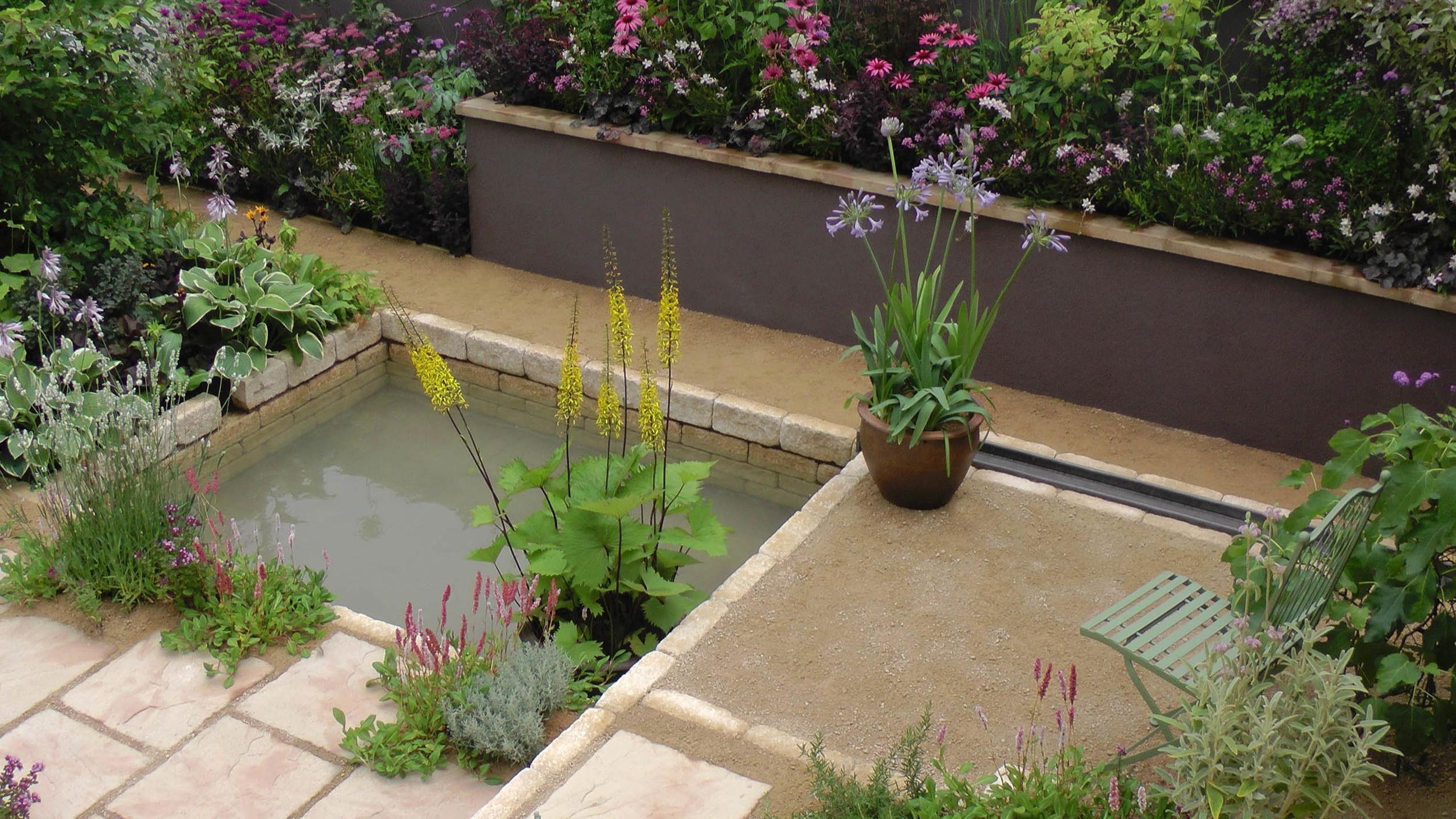 Cheshire Garden Design: RHS Tatton Flower Show 'Precious Resources Garden'