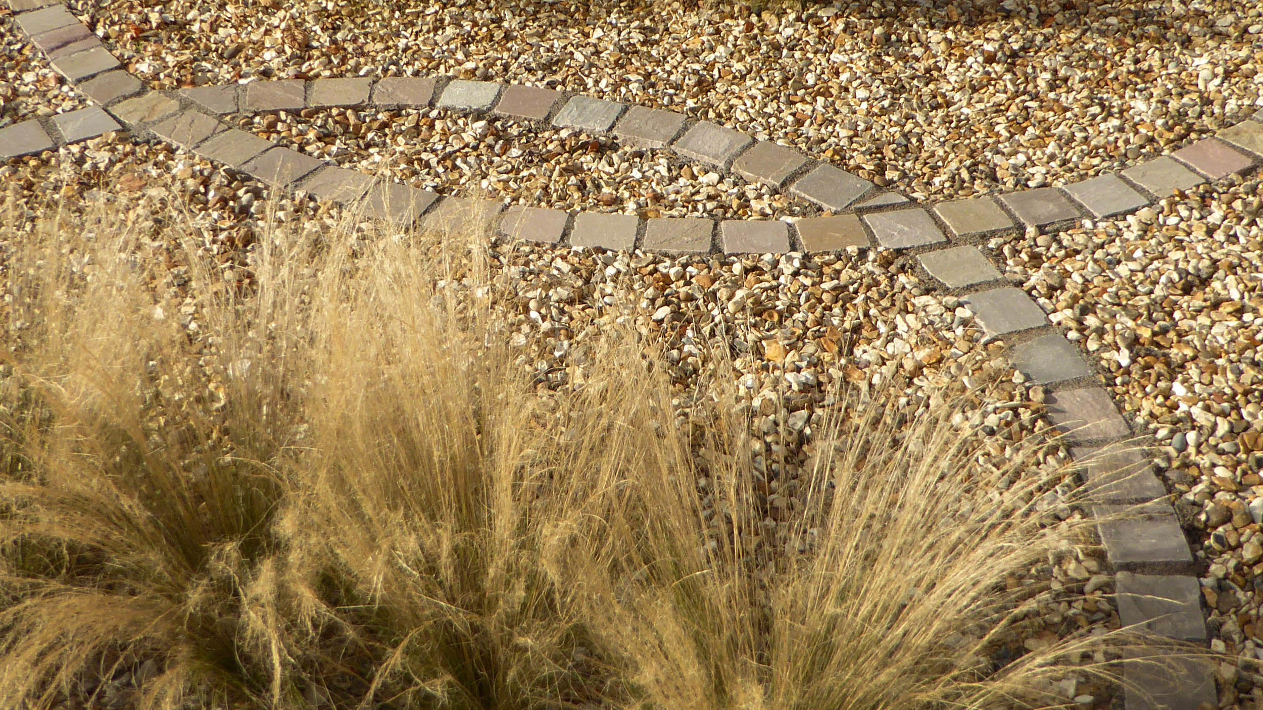 Cheshire Garden Design: Interlocking Curves and Acer