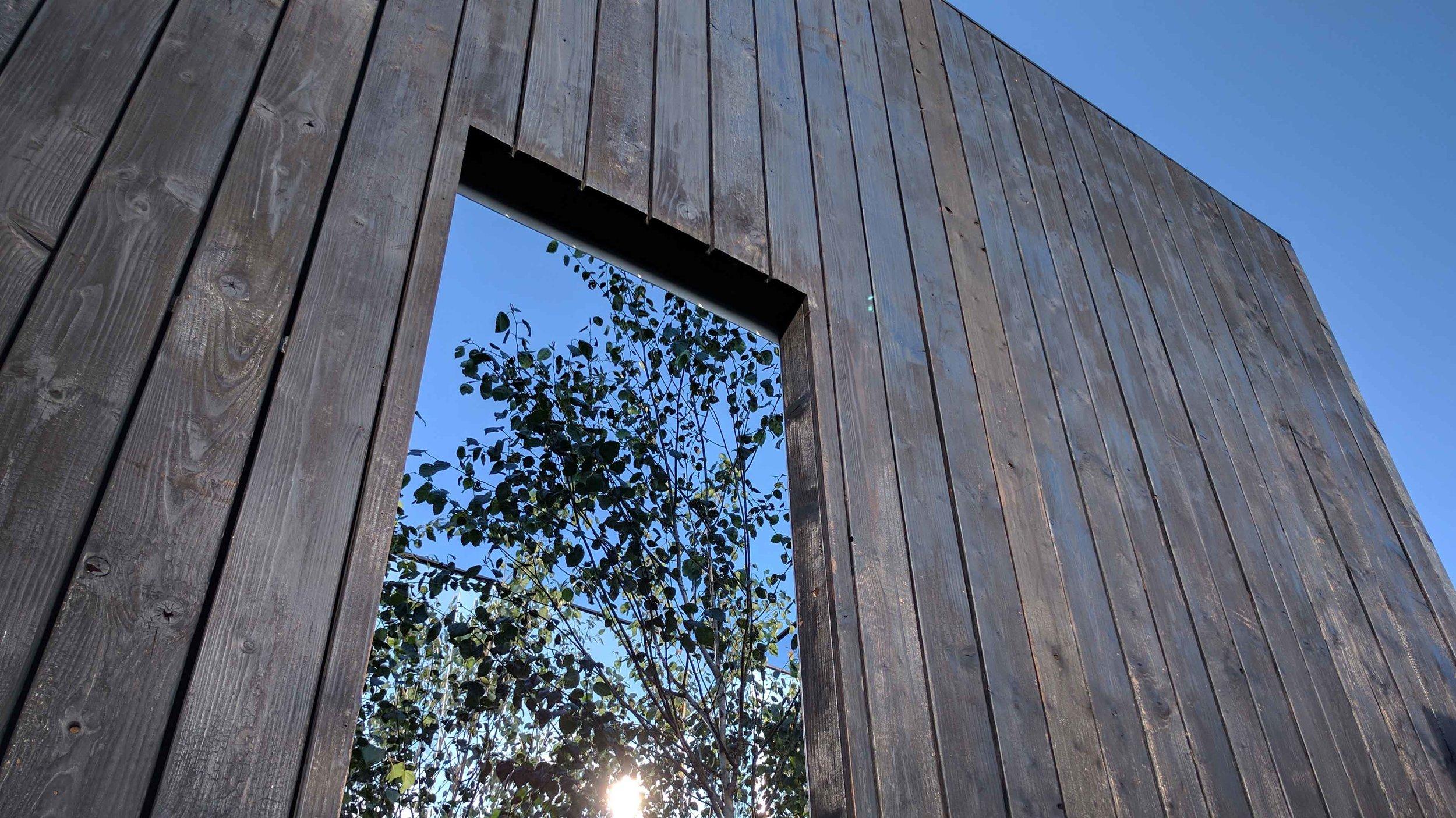 Southport Garden Design: Kuro: Doorway Into The Mirrored Cube