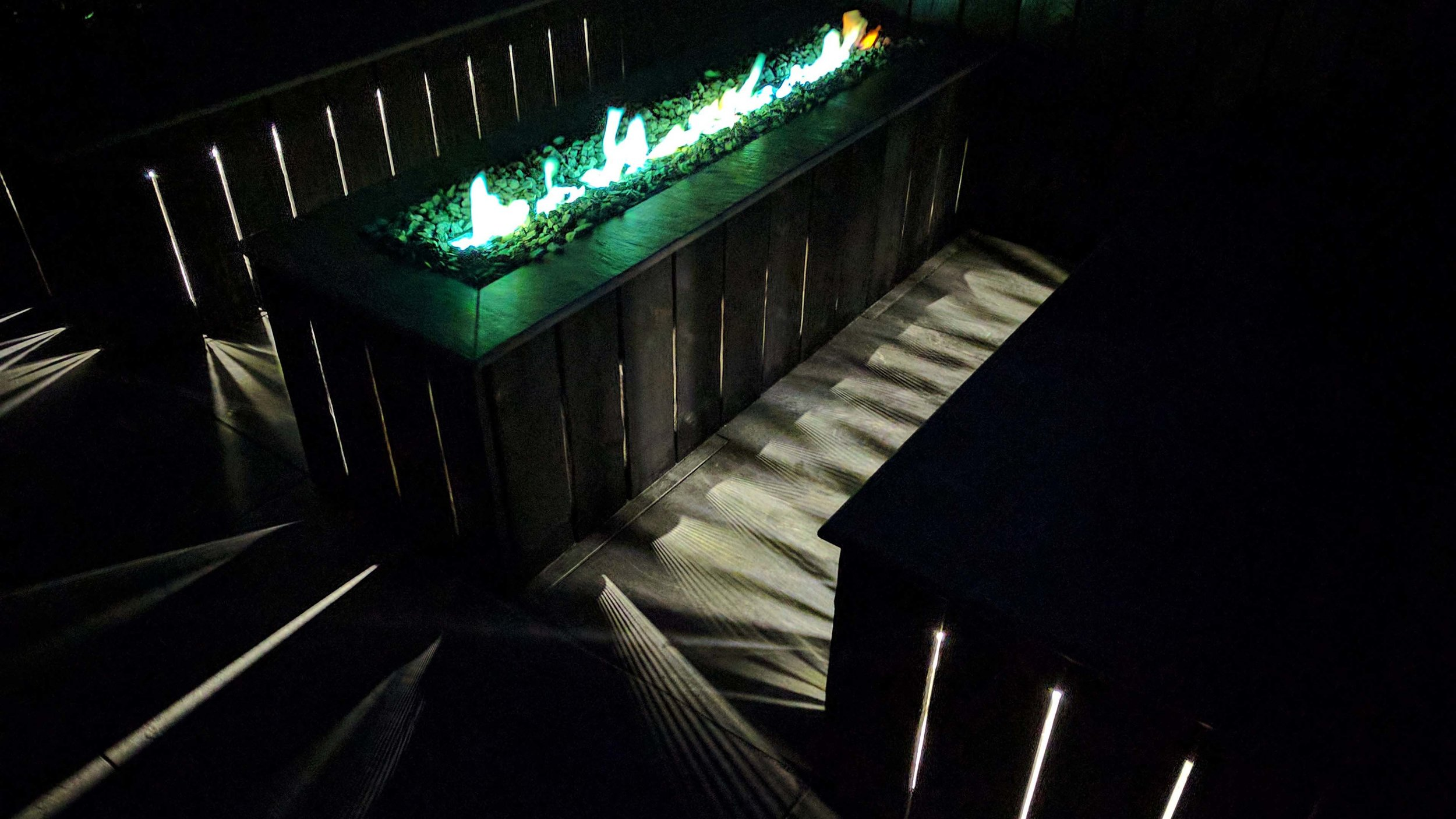 Southport Garden Design: Kuro: Fire Pit And Seating Area