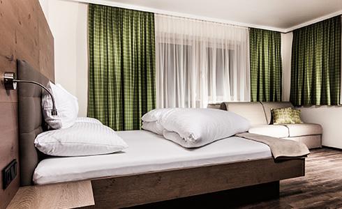 Einbettzimmer im Aktivhotel Tuxerhof