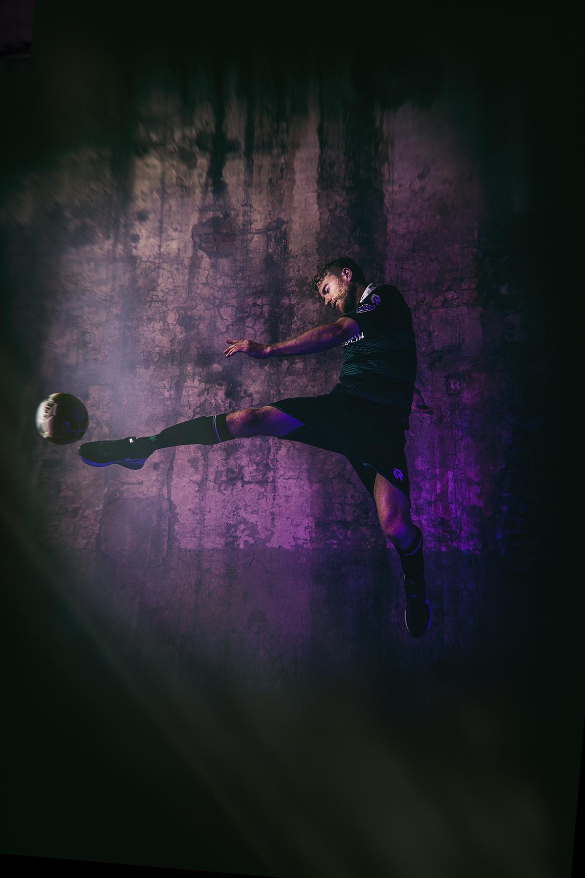 Footballplayer Michael de Leeuw