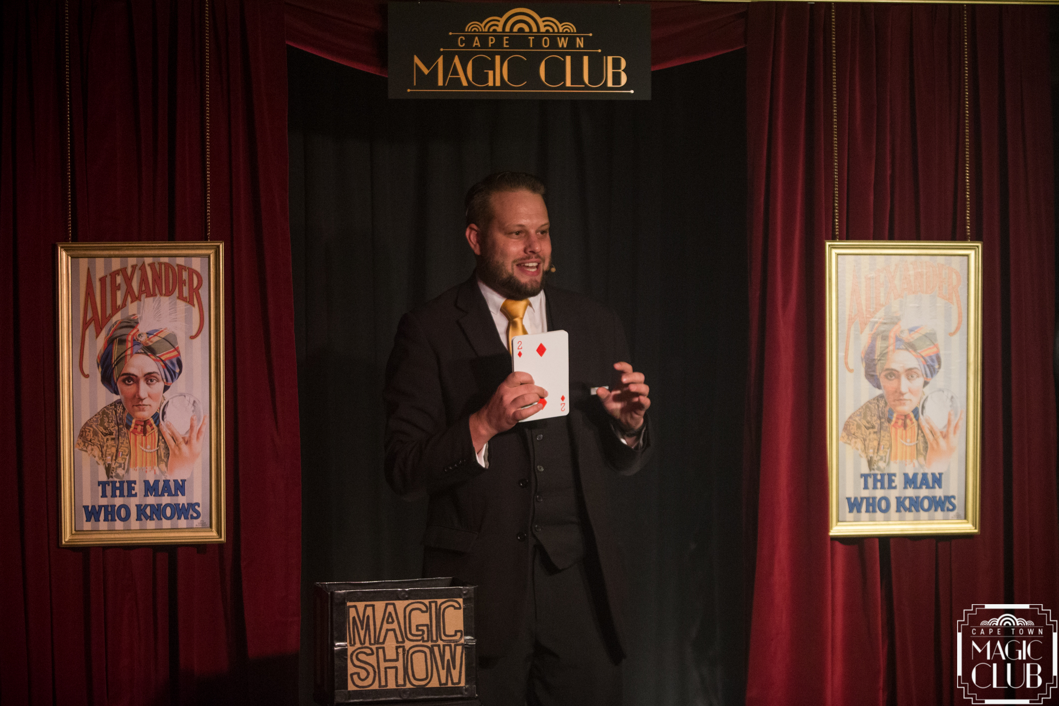"Founder & Executive Producer of Cape Town Magic Club, Marcel Oudejans, looks forward to opening a new season of ""Monday Night Magic"" at Artscape in October 2018. [Photo credit: Andrew Gorman]"