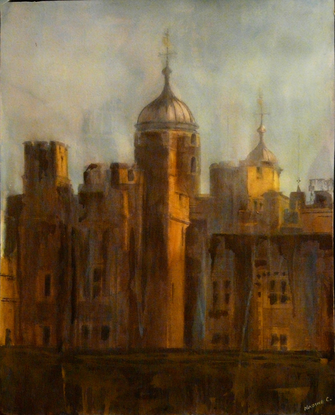 EVENING AT THE TOWER OF LONDON