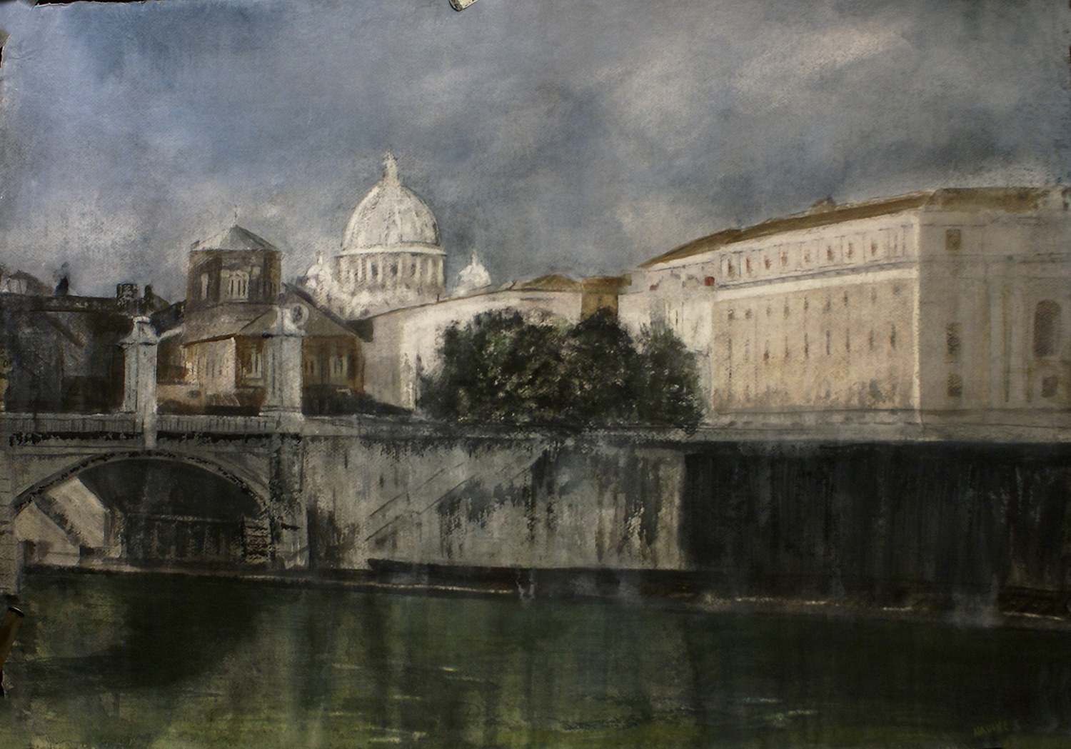 THE VATICAN AND THE TIBER
