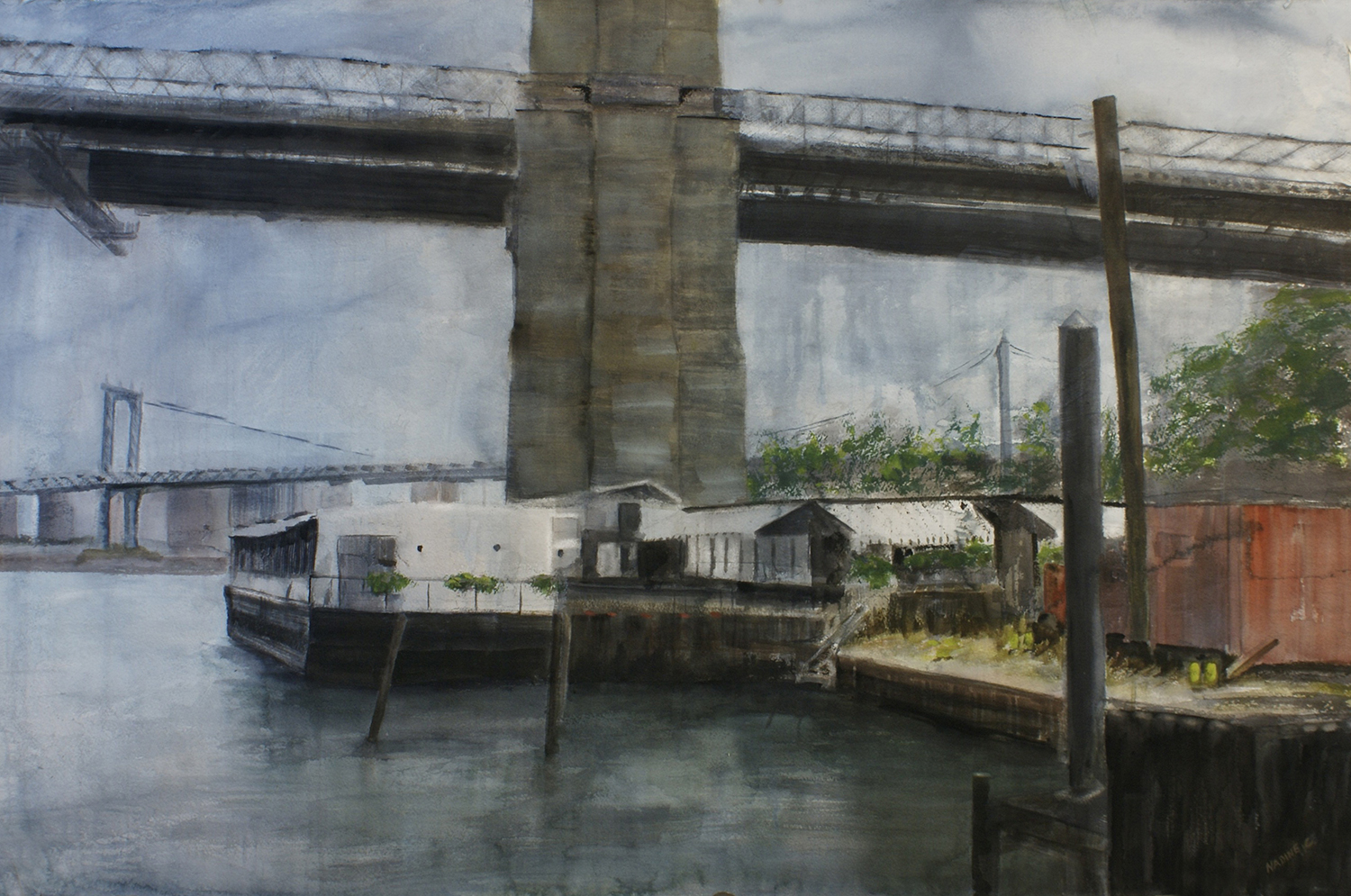 RIVER CAFE ON THE EAST RIVER