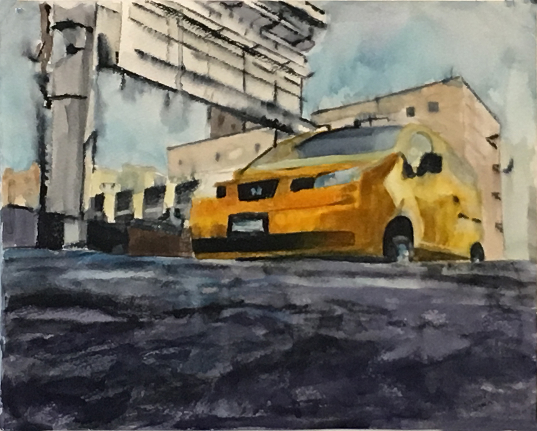 CAB ON COBBLESTONES