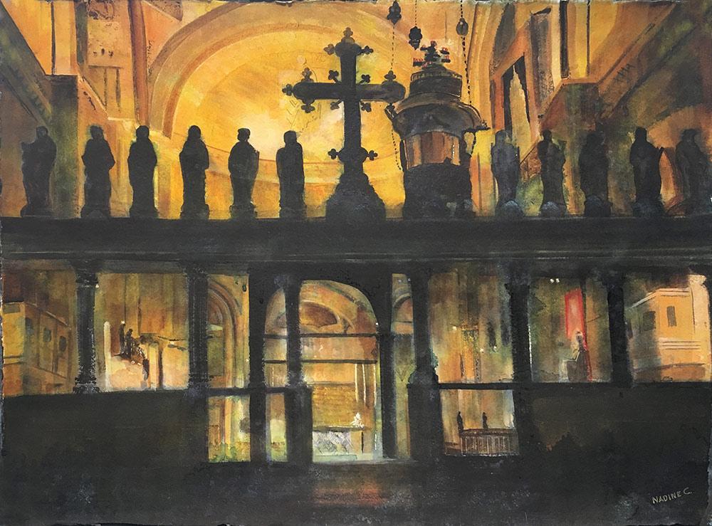 ST. MARKS BASILICA ALTAR