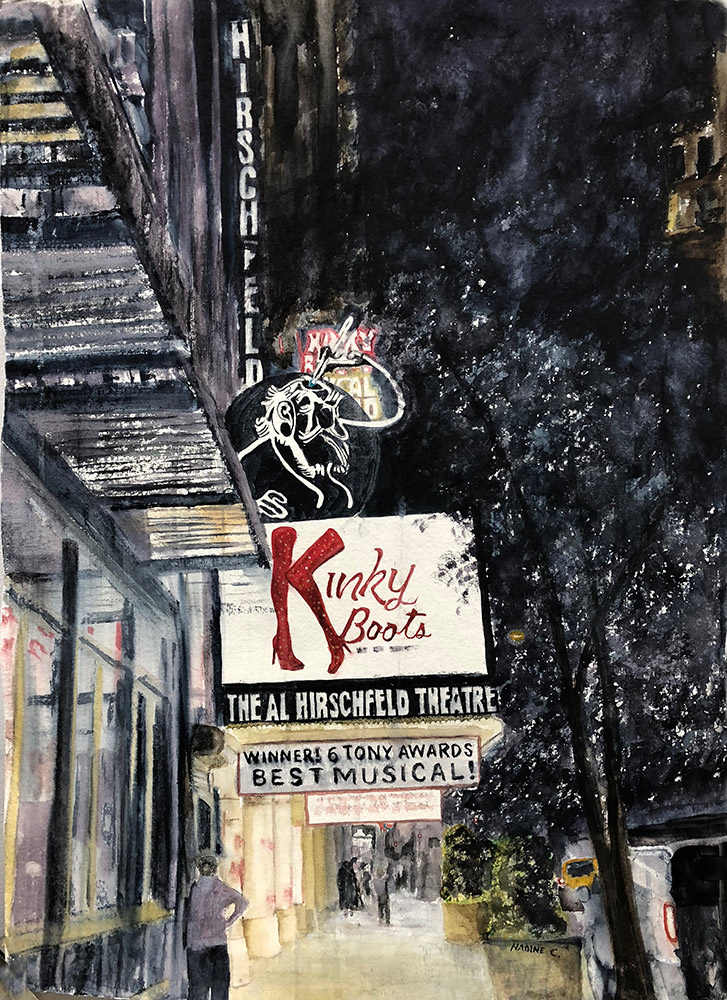 KINKY BOOTS ON 45th Street