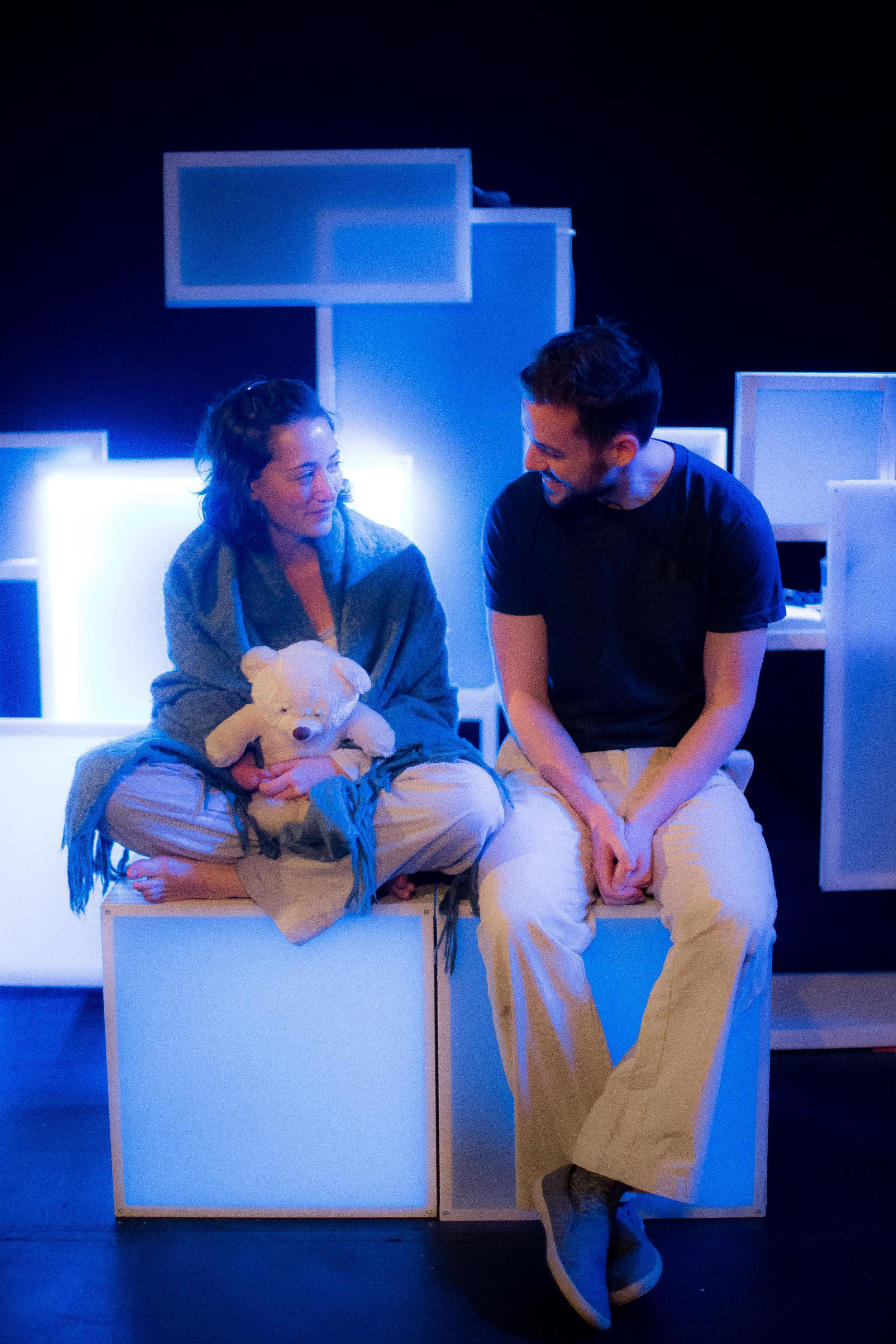Natalie Kimmerling (Sophie) and Paul O'Dea (Nate)