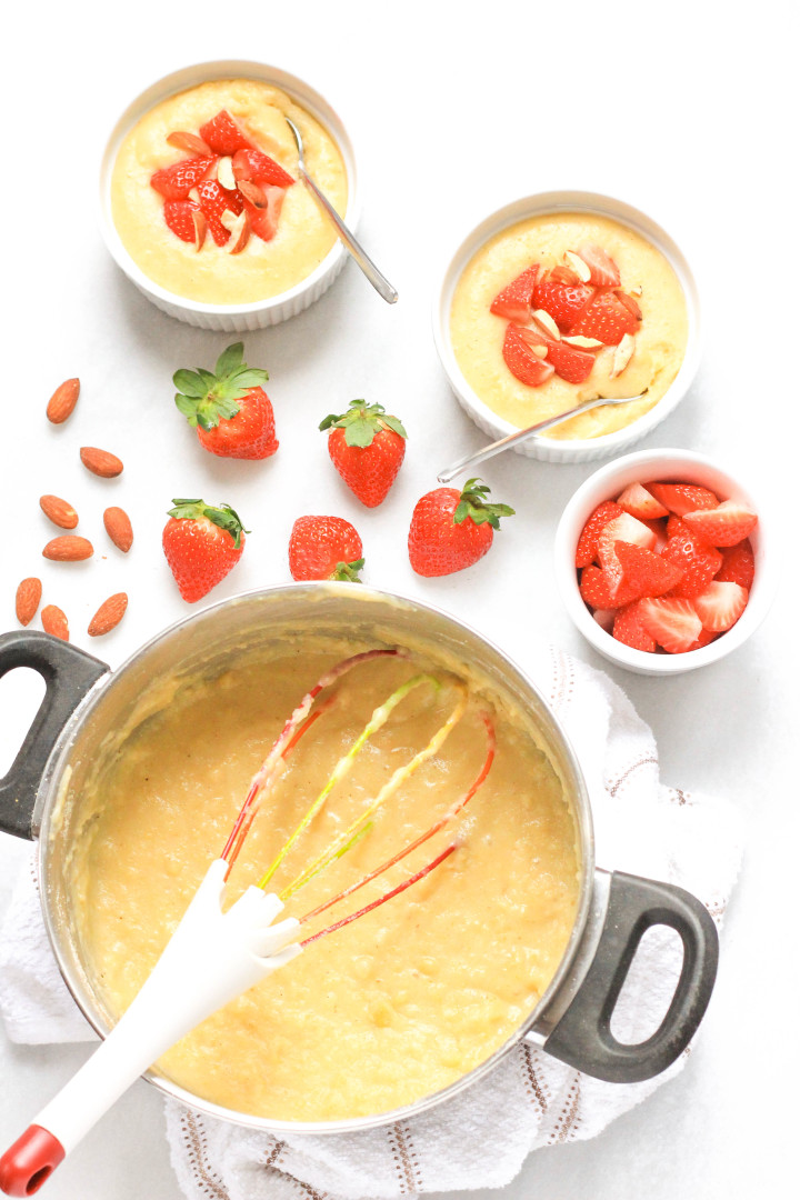 Creamy Breakfast Polenta with Strawberries & Almonds_TS.jpg