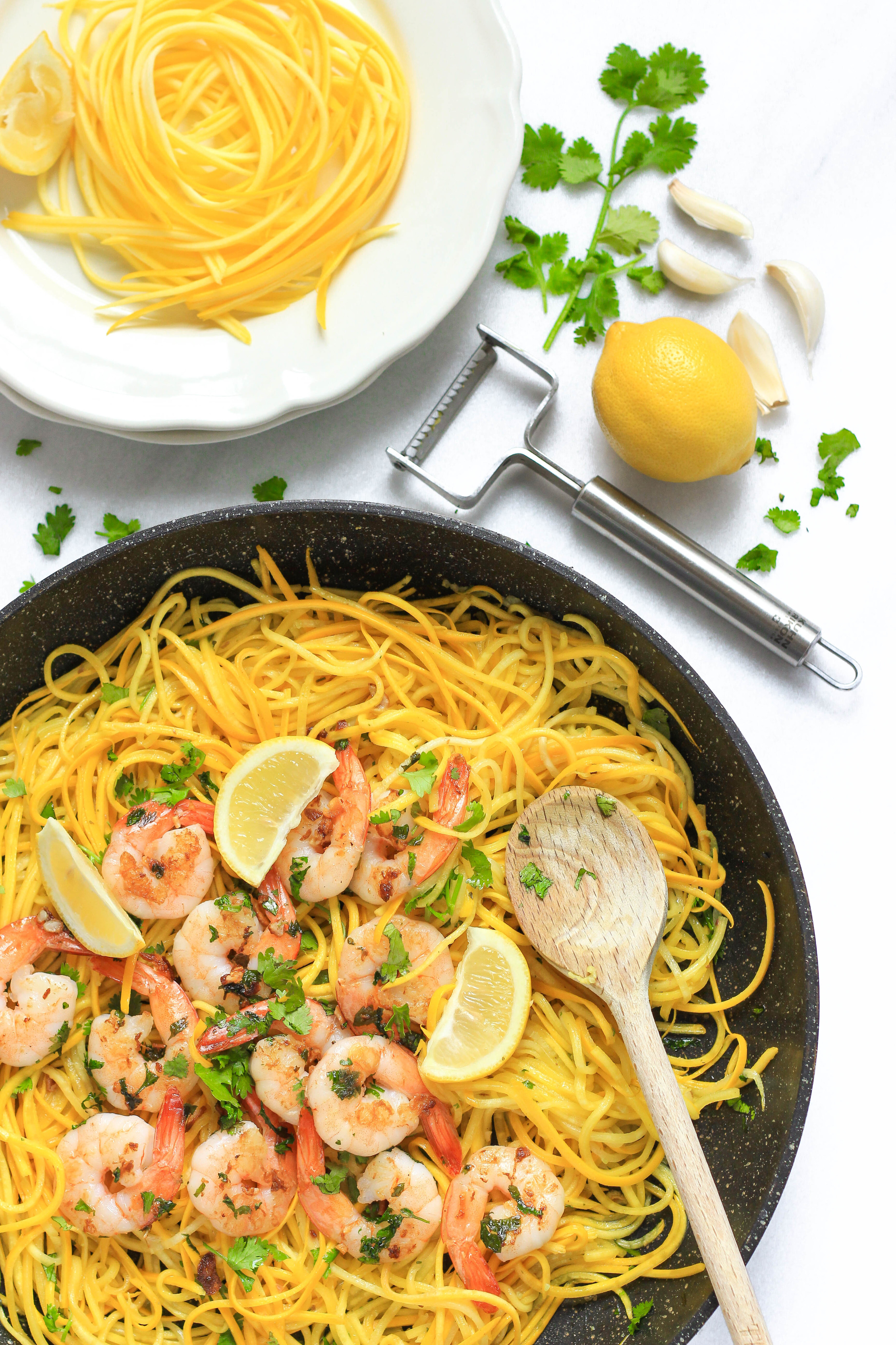 Garlic Butter Shrimp with Yellow Squash Noodles4.jpg