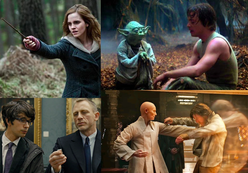 Examples of champions. Find your Hermiones, Yodas, Qs and Ancient Ones.