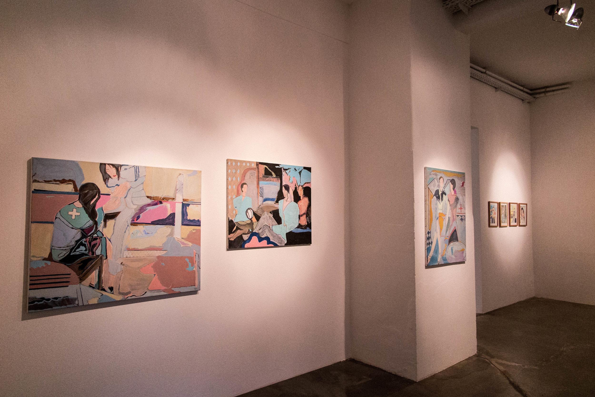 Ausstellungsimpressionen Anja Sei