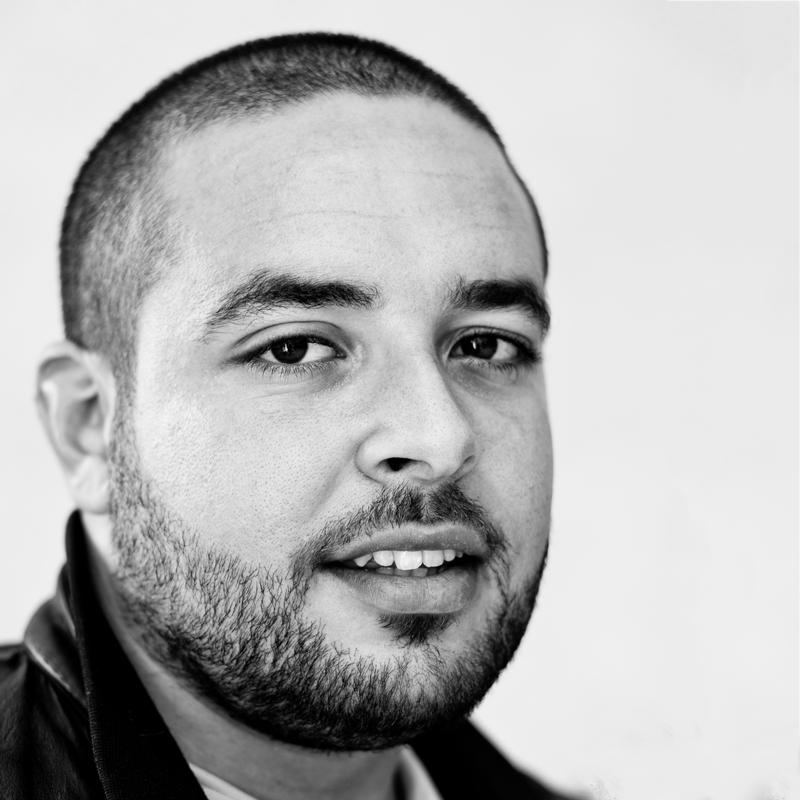 Wassim Ghozlani , Fotograf und Direktor des  Maison de l'Image Tunis , Tunis, Tunesien