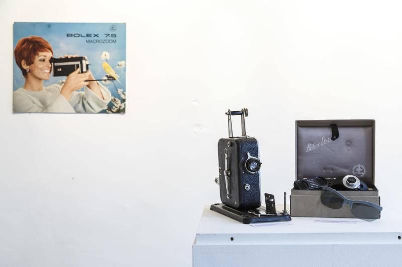 3D-Technologie an einer Bolex Bild: Hanspeter Bärtschi