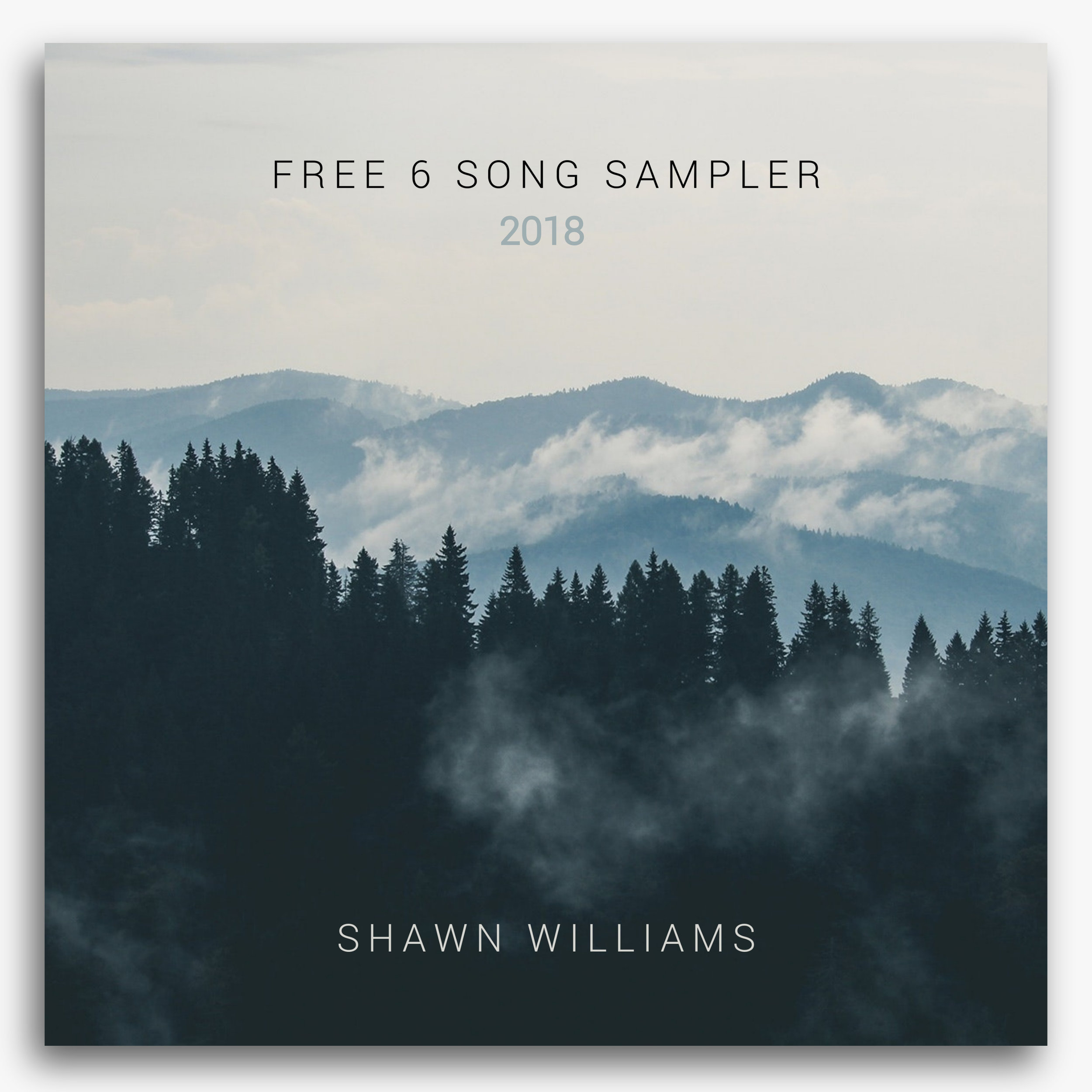 A free music sampler of instrumental music from composer, Shawn Williams