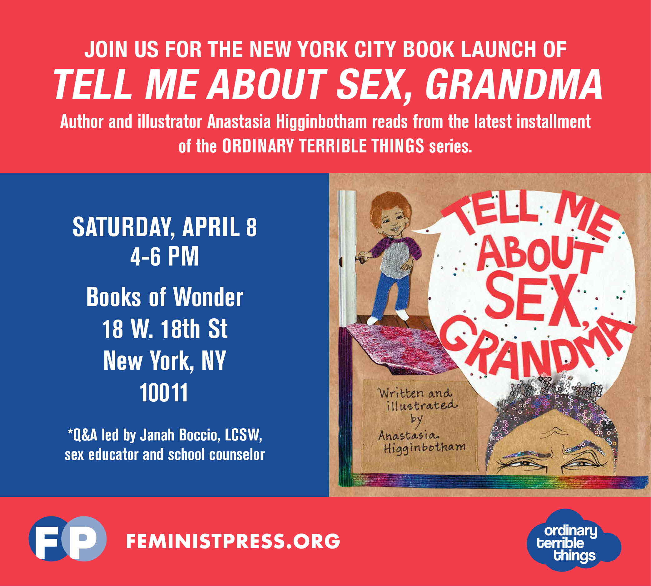 tell me about sex nyc launch