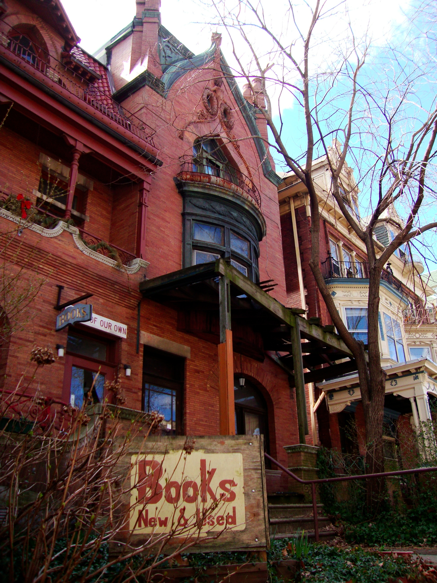 Tess on House of Our Own - Philadelphia, PAHoused in a Victorian home, it's a beautiful and cozy place to browse new and used books!